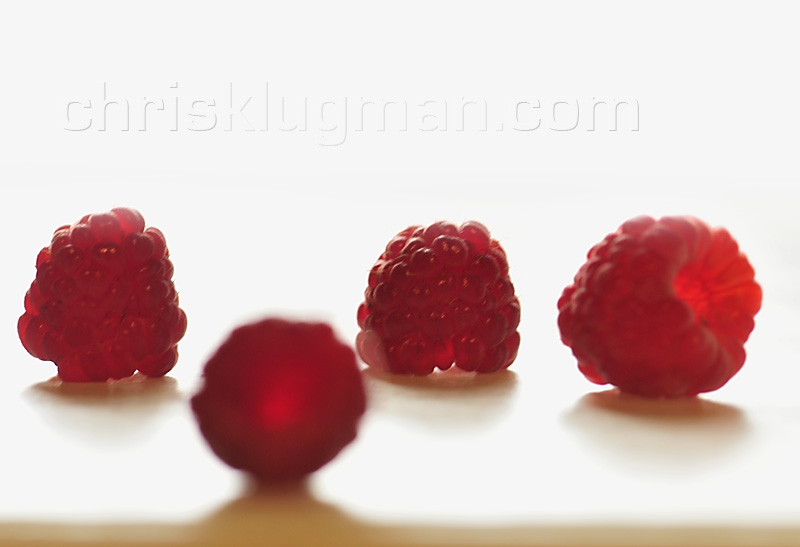 Raspberry composition