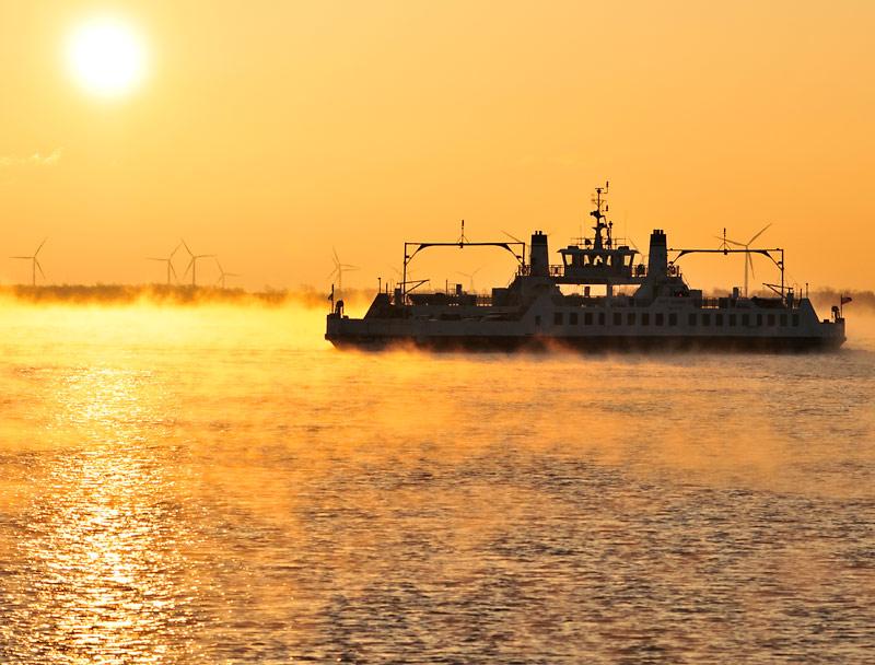 Wolf-island-ferry