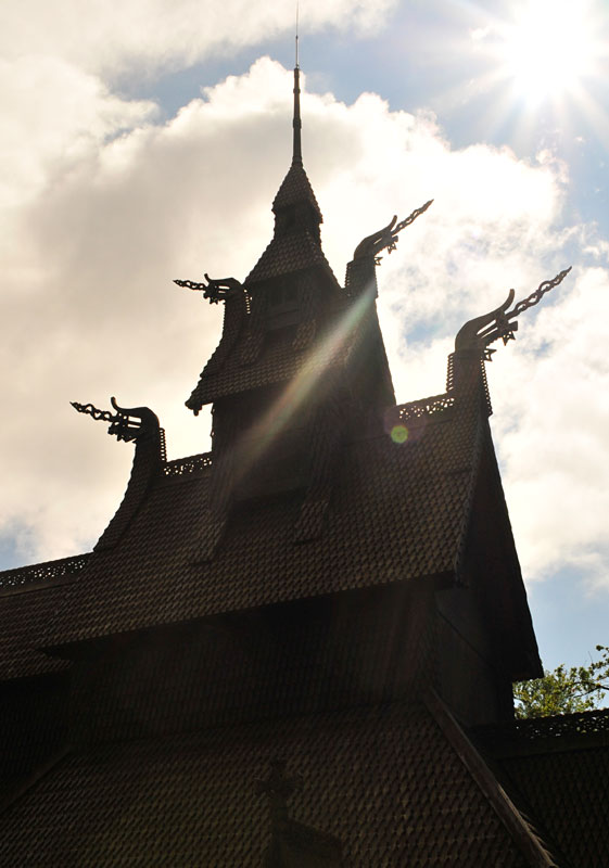 Stave-church