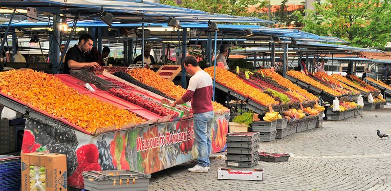 Open-air-market